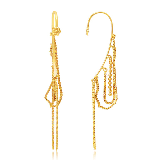 Sukkhi Beguiling Gold Plated Earcuff Ear-Cuff For Women