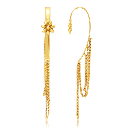 Sukkhi Pretty Gold Plated Earcuff Ear-Cuff For Women