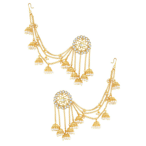 Sukkhi Stylish Elephant Inspired Zhumki Design Ear cuff for women - Title