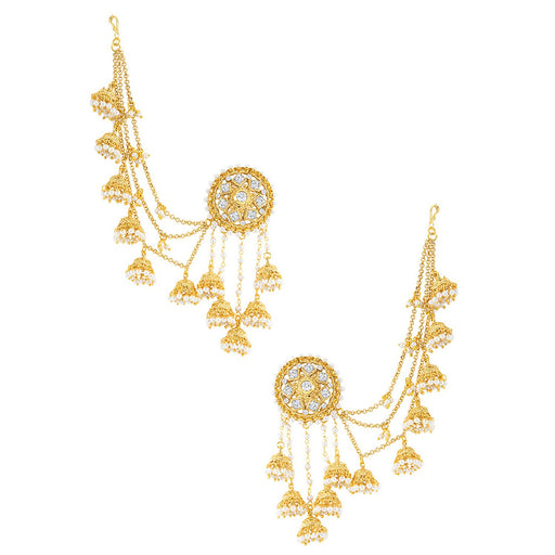Sukkhi Classic Elephant Inspired Zhumki Design Ear cuff Earring for women - Title