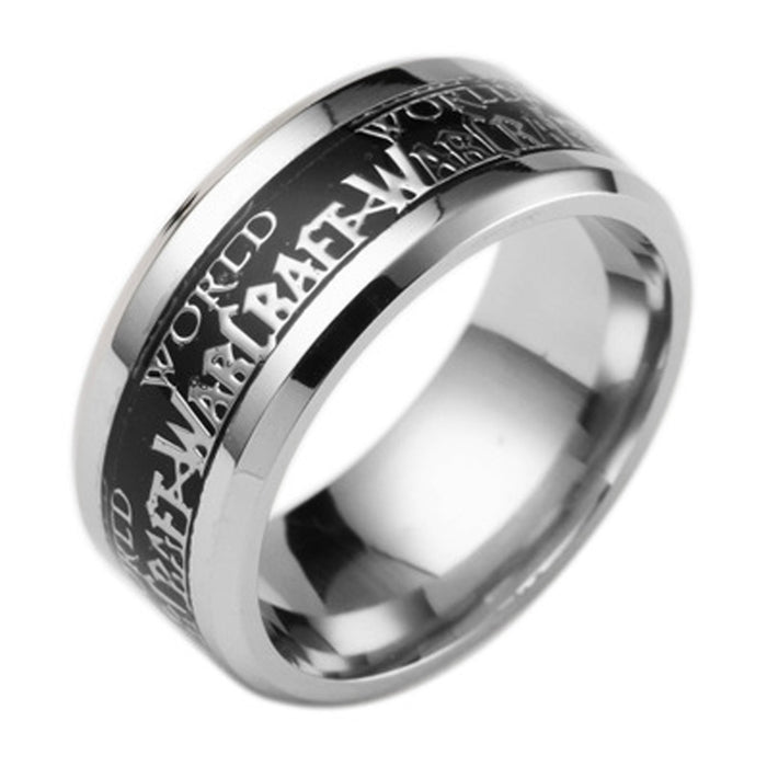 Sukkhi Shimmering World of Warcraft Rhodium Plated Gents Ring - 18