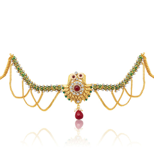 Sukkhi Delightly Gold Plated KamarBand For Women