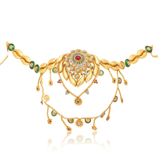 Sukkhi Lavish 2 String Gold Plated KamarBand For Women