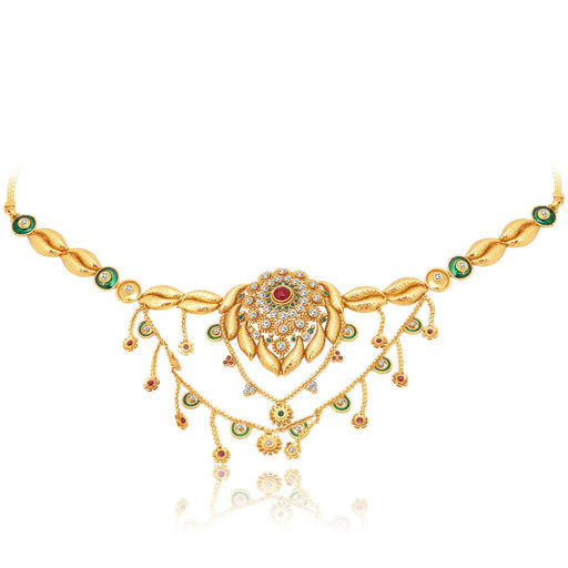 Sukkhi Attractive 2 String Gold Plated KamarBand For Women