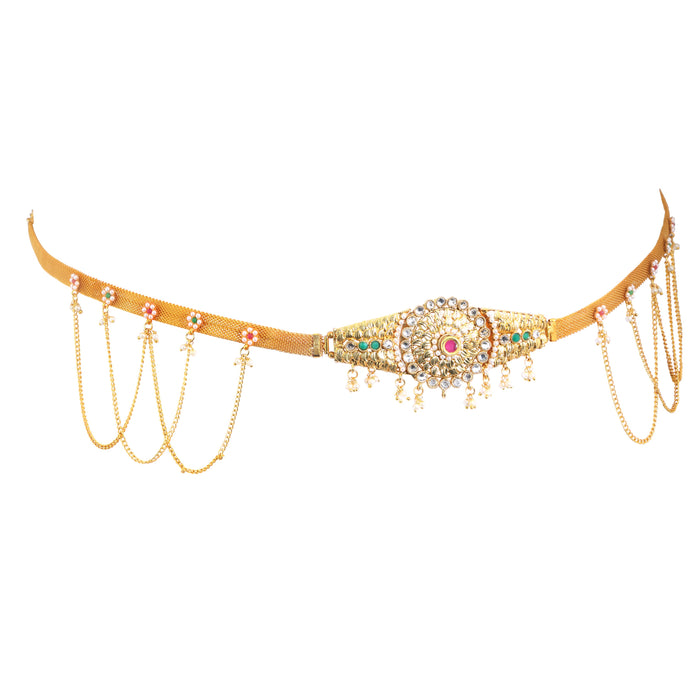 Sukkhi Trendy Gold Plated Kamarband for women - Title