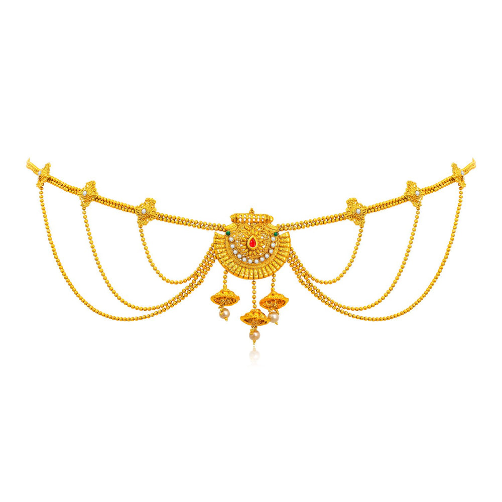 Sukkhi Fine Gold Plated Kamar Bandh for Women