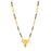Sukkhi Classic Gold Plated Mangalsutra For Women