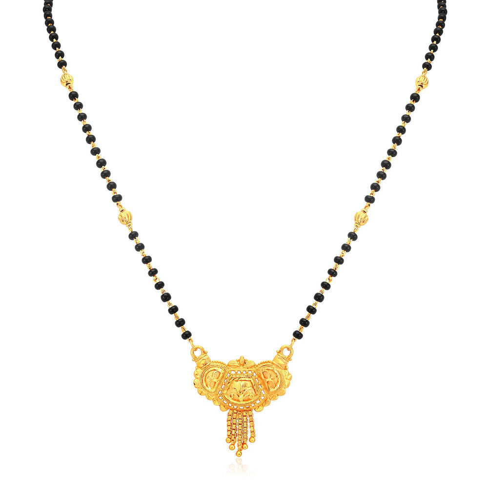 Sukkhi Creative Gold Plated Mangalsutra For Women