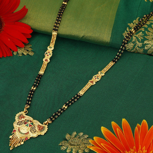 Sukkhi Cluster 24 Carat 1 Gram Gold Jewellery Mangalsutra for women