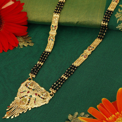 Sukkhi Modern 24 Carat 1 Gram Gold Jewellery Mangalsutra for women