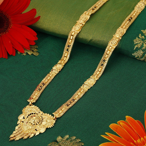 Sukkhi Dazzling 24 Carat 1 Gram Gold Jewellery Mangalsutra for women