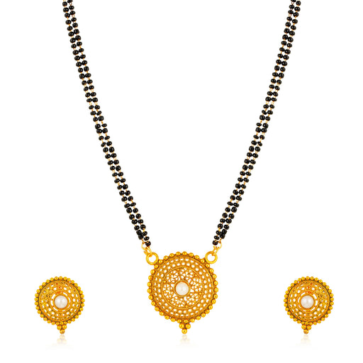 Sukkhi Appealing Gold Plated Mangalsutra for Women
