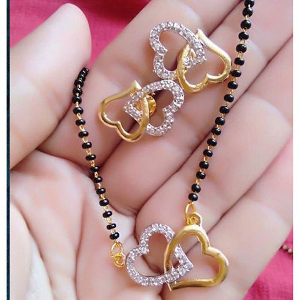 Sukkhi Adorable Gold Plated Mangalsutra Set for Women