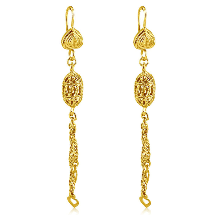 Sukkhi Excellent Gold Plated Tassel Necklace Set For Women-2