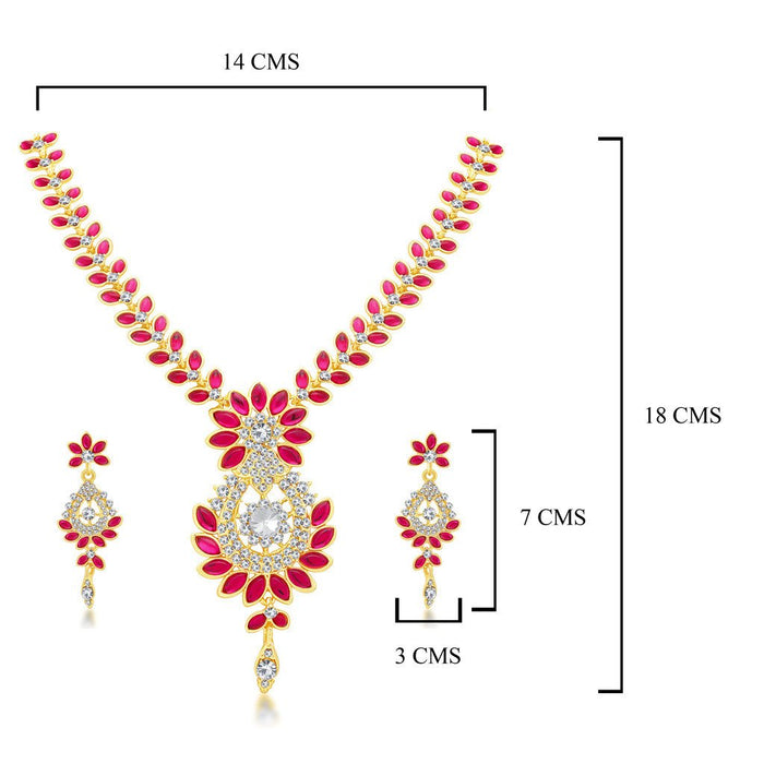 Sukkhi Incredible Gold Plated Collar Necklace set For Women-1