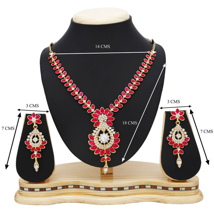 Sukkhi Incredible Gold Plated Collar Necklace set For Women-4