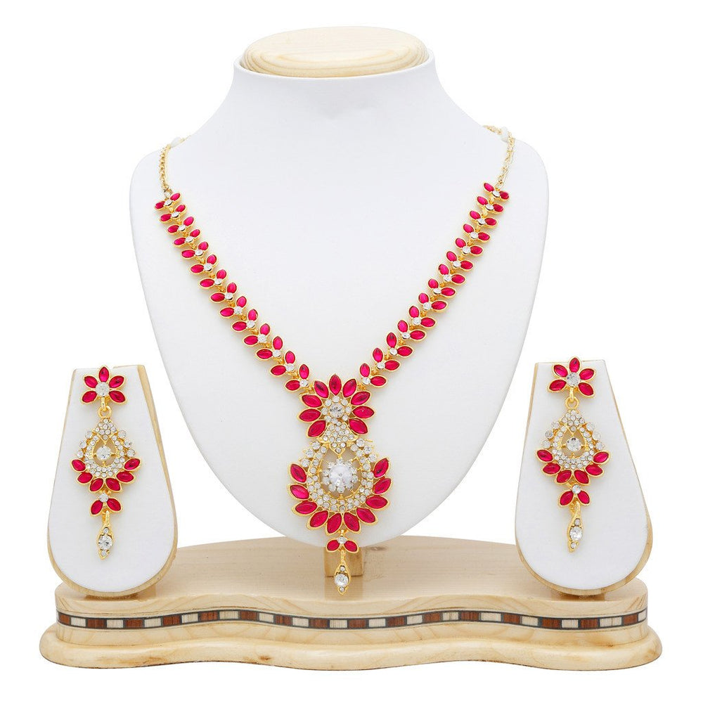 Sukkhi Incredible Gold Plated Collar Necklace set For Women-5