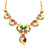 Sukkhi Glamorous Gold Plated Collar Necklace Set For Women-1