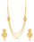 Sukkhi Trendy 4 String Gold Plated Necklace set for women