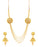 Sukkhi Traditional 4 String Gold Plated Necklace Set for women