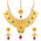 Sukkhi Traditional Gold Plated Choker Necklace Set for women