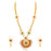 Trushi Gorgeous Gold Plated Designer Long Necklace Set For Women