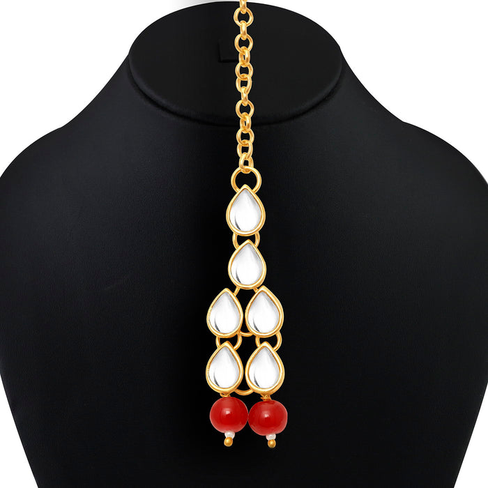 Trushi by Sukkhi Trendy Gold Plated Kundan Set for women