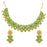 Sukkhi Gorgeous Gold Plated Mint Meena Collection Choker Necklace Set for Women