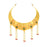 Sukkhi Tibale Gold Plated Pearl Choker Necklace Set for Women