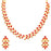 Sukkhi Elegant LCT and Red Stone Gold Plated Necklace Set for Women