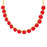 Sukkhi Fancy Red Stone Gold Plated Necklace Set for Women
