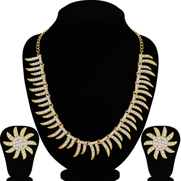 Sukkhi Impressive Gold Plated Necklace Set For Women