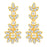 Sukkhi Resplendent Gold Plated Floral Necklace Set For Women