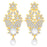 Sukkhi Glistening Gold Plated Floral Necklace Set For Women