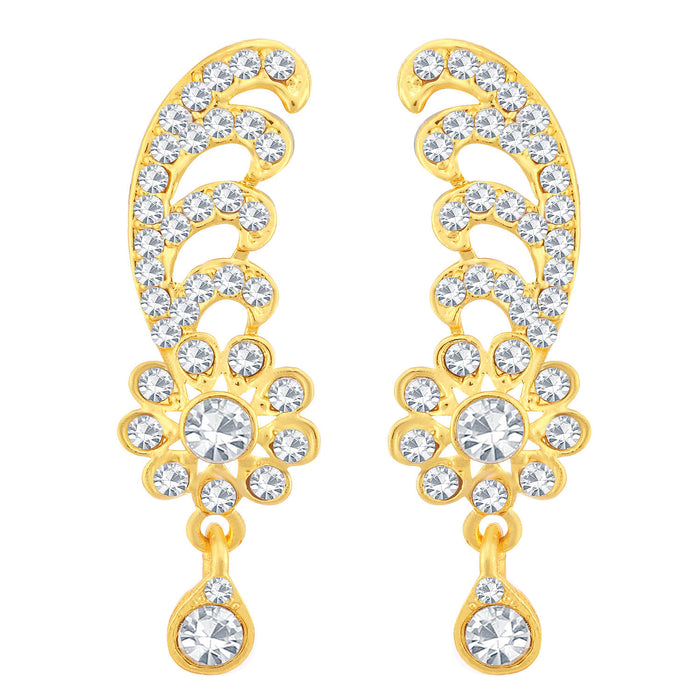 Sukkhi Beguiling Gold Plated Floral Necklace Set For Women