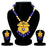 Sukkhi Dazzling Gold Plated Pearl Long Haram Necklace Set For Women