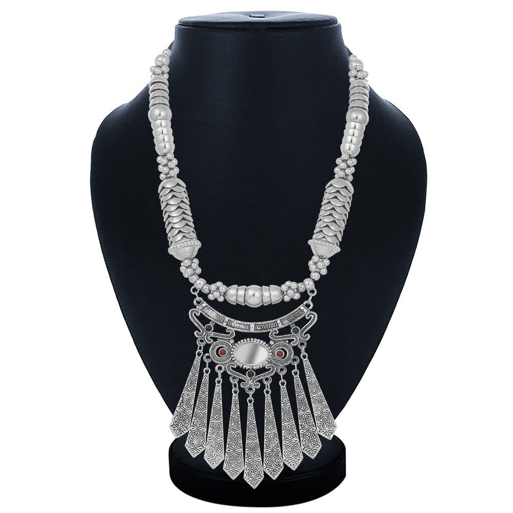 Sukkhi Glorious Collar Oxidised Necklace Set for Women