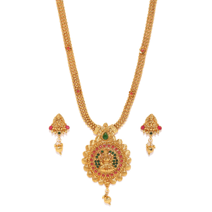 Sukkhi Gold Plated Choker Necklace Set