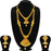 Sukkhi Luxurious Gold Plated LCT Stone Long Haram Dual Necklace Set For Women
