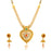 Sukkhi Luxurious Collar Gold Plated Necklace Set Set for Women