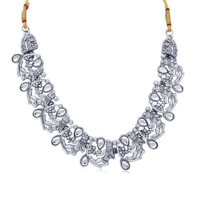 Sukkhi Sensational Oxidised Necklace Set for Women
