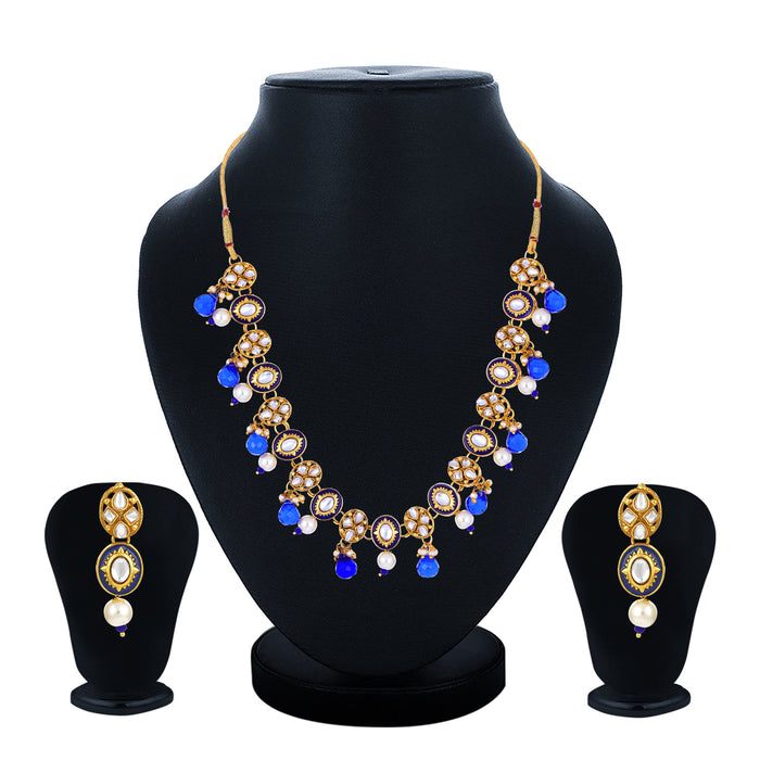 Sukkhi Stunning Gold Plated Necklace Set for Women