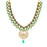 Sukkhi Eye Catching Gold Plated Necklace Set for Women