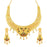 Sukkhi Ethnic 24 Carat 1 Gram Gold Plated Meenakari Choker Necklace Set For Women