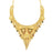 Sukkhi Glistening 24 Carat 1 Gram Gold Plated Meenakari Choker Necklace Set For Women