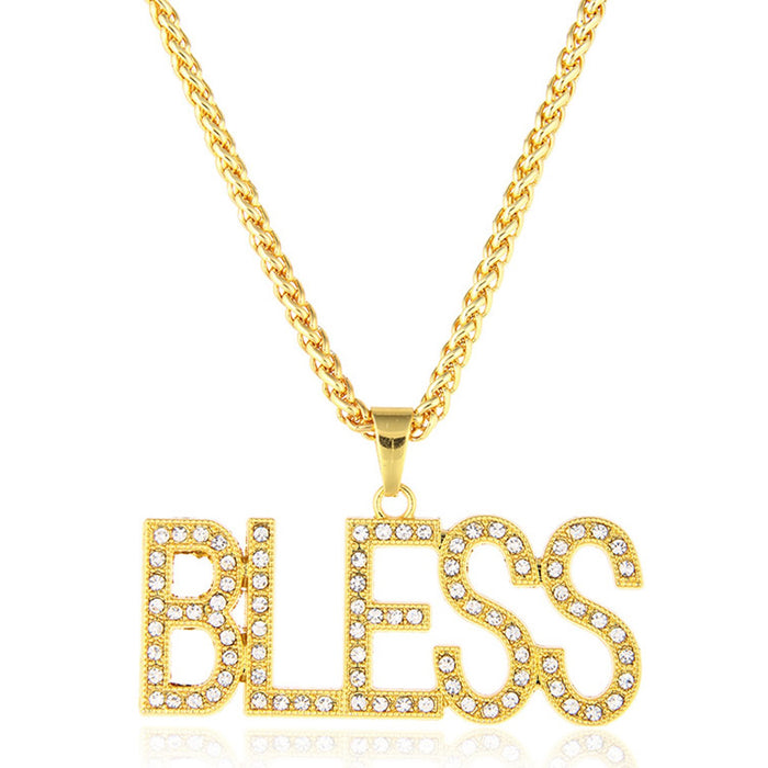 Sukkhi Marvellous BLESS Cubic Zirconia Gold Plated Pendant for Women