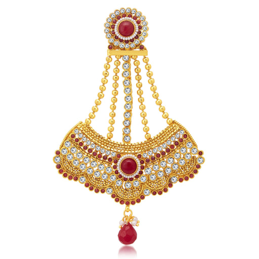 Sukkhi Sleek Gold Plated Passa For Women
