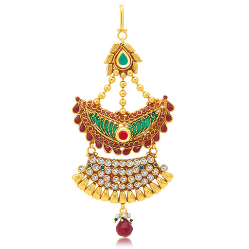 Sukkhi Traditionally Gold Plated Passa For Women
