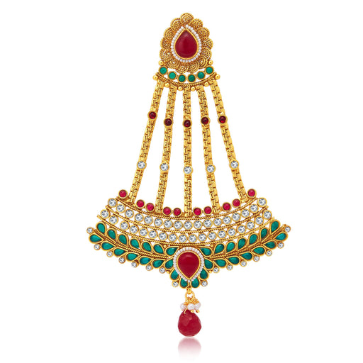 Sukkhi Elegant Jalebi Gold Plated Passa For Women