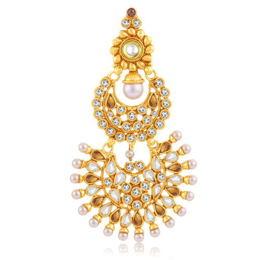 Sukkhi Lavish Gold Plated Passa For Women